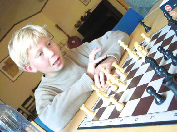 Skipper Worses sjakk-talenter