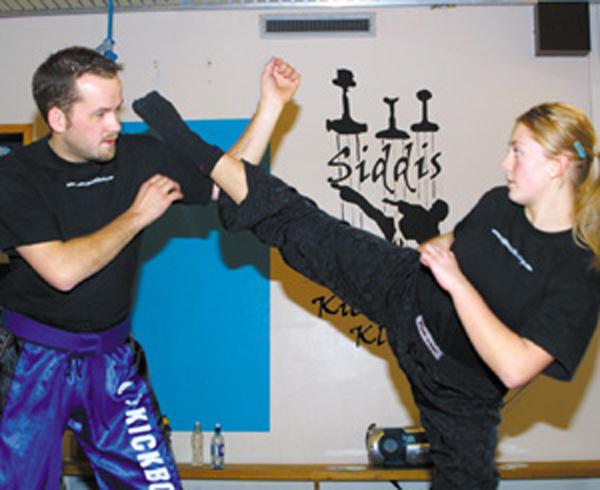 Fredelige kickboxere