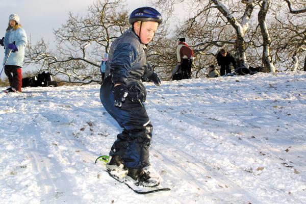 Fem dager med snø i Fygaren