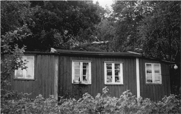 Hyttebygging i trange tider