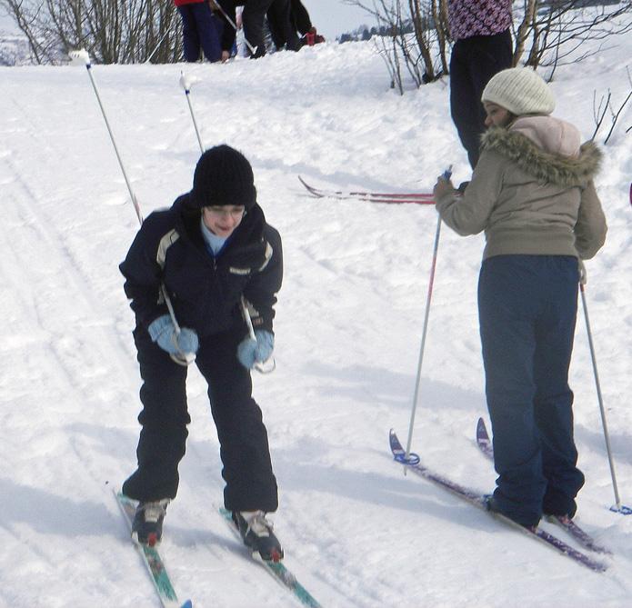 Migrert med ski på beina?