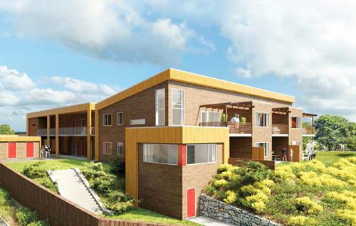 Nye boliger klare til start