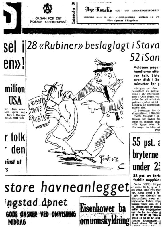 Da moralpolitiet raidet bokhandlerne i Sandnes