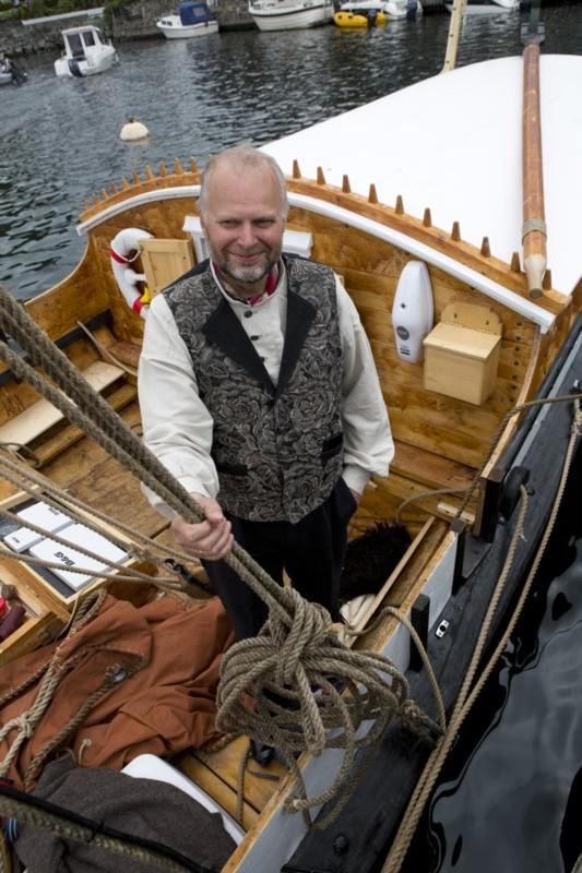 Middelalderbåt på tokt til Åland