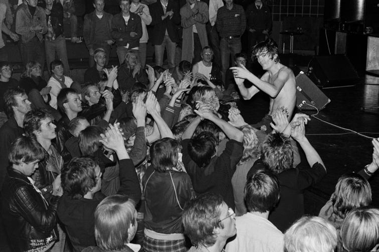 Sølvberget galleri presenterer: FIN SERCK–HANSSEN - Musikkfotografier 1979- 1986