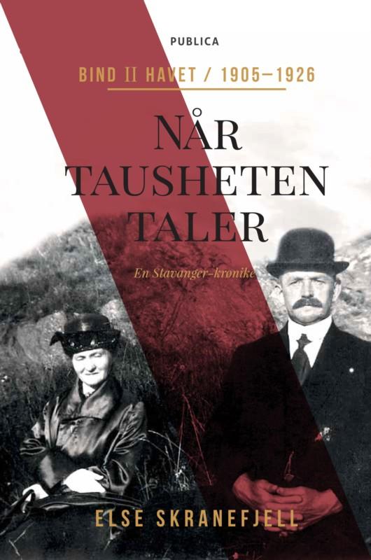 Else Skranefjell er nå aktuell med boken Når tausheten taler. Bind II: Havet.