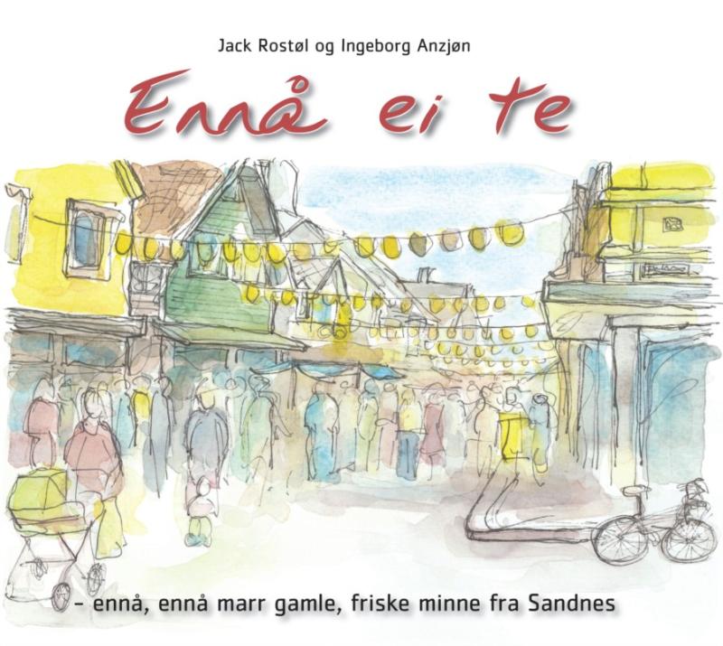 Jack Rostøl er nå aktuell med boken Ennå ei te.