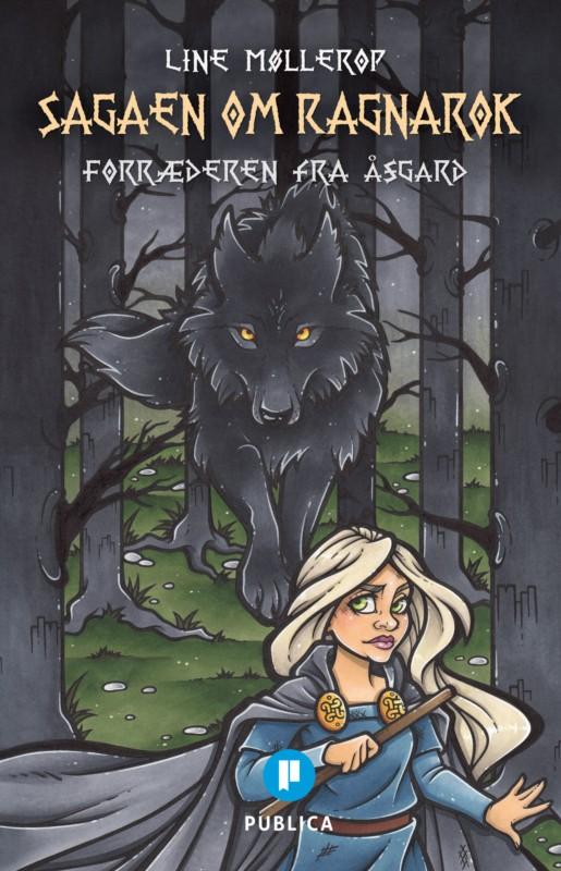 Line Møllerop er nå aktuell med boken Sagaen om Ragnarok.