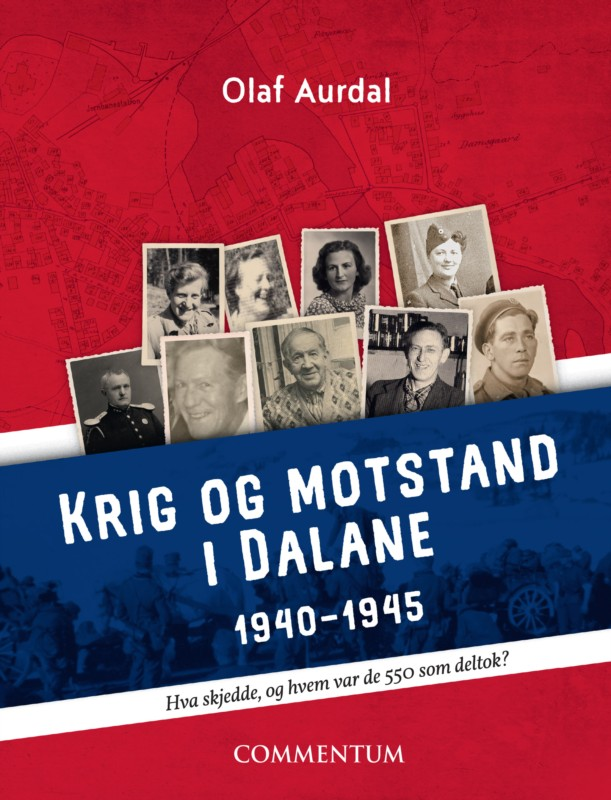 Olaf Aurdal er nå aktuell med boken Krig og motstand i Dalane 1940-1945.